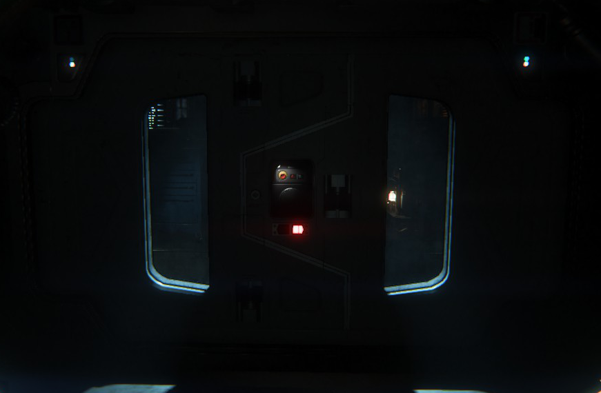 Alien: Isolation - Survivor Door