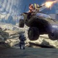A Warthog on the Valhalla multiplayer map.